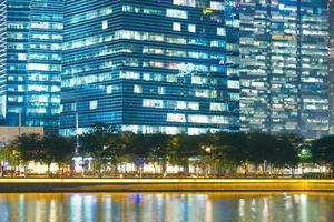 lungomare nella città di singapore