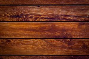 parete della plancia di legno marrone per lo sfondo foto
