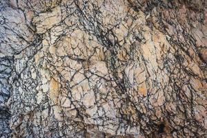 superficie della roccia per texture o sfondo foto