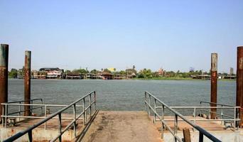 thailandia, 2020 - molo o porto foto