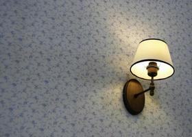 lampada a parete foto