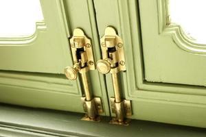 serrature in ottone foto