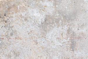 vecchio primo piano muro di intonaco foto