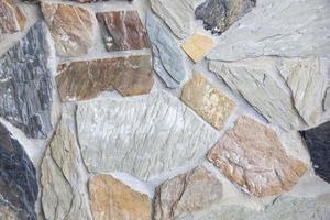 primo piano del muro di pietra