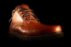 scarpe marroni invernali foto