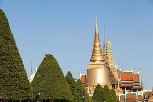tempio di wat phra kaew a bangkok