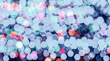 luci colorate astratte del bokeh