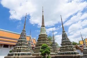 grande pagoda di wat pho a bangkok