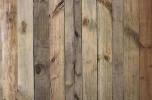 parete in doghe di legno