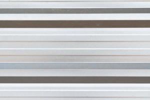 superficie di struttura metallica ondulata foto
