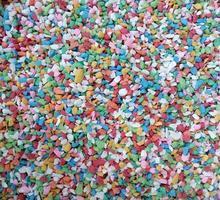 rocce di ciottoli colorati foto