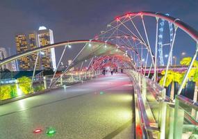 ponte dell'elica a singapore