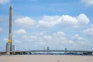 ponte rama viii a bangkok