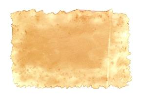 vecchia carta rustica foto