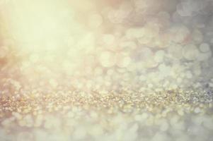 sfocatura dello sfondo di luci glitter foto