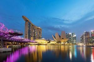 baia del porticciolo a Singapore