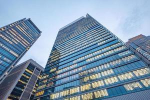 edifici per uffici commerciali, città di tokyo, giappone