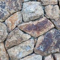 impilati muro di pietra