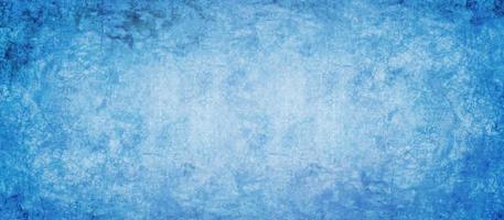 cemento blu scuro e texture grunge foto