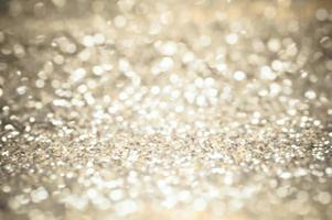 sfocatura dello sfondo di luci vintage glitter foto