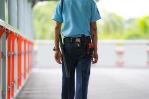 ufficiale della guardia di sicurezza foto