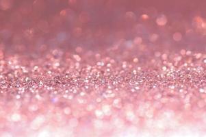 bokeh rosa glitter foto