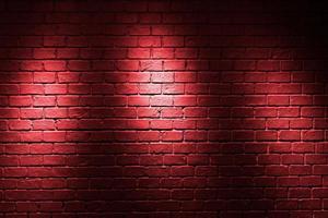 sfondo muro di mattoni rossi foto