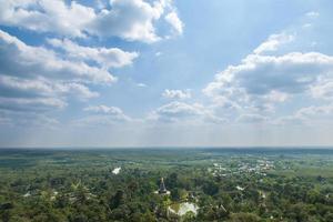 cielo, nuvole e foresta in Tailandia