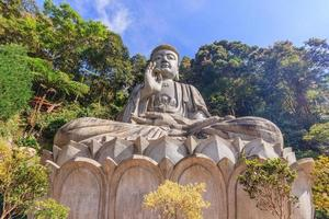 statua del buddha al chin swee caves temple di pahang, malesia foto