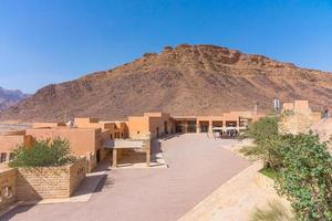 centro visitatori di wadi rum, giordania, 2018 foto