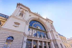 stazione keleti a budapest, ungheria, 2016 foto