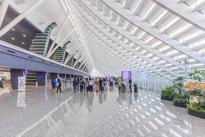 aeroporto internazionale di taiwan taoyuan a taipei, 2017 foto