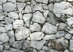 vecchio muro di roccia foto