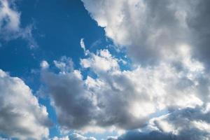 cumuli nel cielo foto