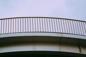 corrimano su un ponte in spagna foto