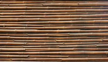 sfondo di recinzione di bambù foto
