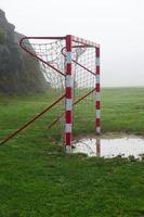 pali della porta di calcio