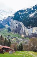valle di lauterbrunnen in svizzera