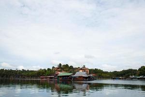 resort vicino a un fiume in thailandia