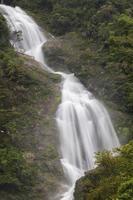 vista di una cascata