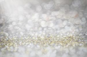 sfocatura di glitter foto