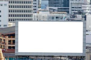 mockup di cartelloni pubblicitari per la pubblicità foto