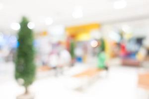 sfocatura astratta sfondo del centro commerciale