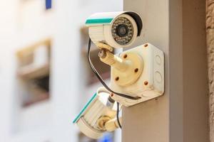 telecamera di sicurezza cctv foto