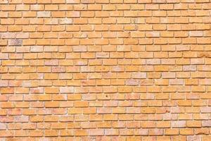 vecchio sfondo marrone muro di mattoni foto