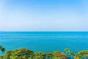 bellissimo oceano tropicale foto
