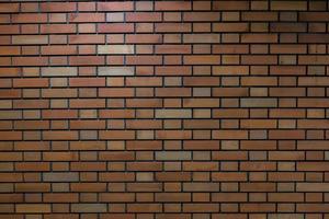 sullo sfondo del muro di mattoni foto