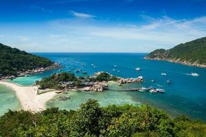 isola di phuket, thailandia, 2020 - veduta aerea dell'isola di phuket