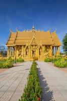 chachoengsao, thailandia, 2020 - percorso per il tempio wat paknam jolo