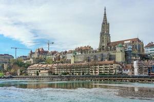 vista panoramica di berna, capitale della svizzera, 2018